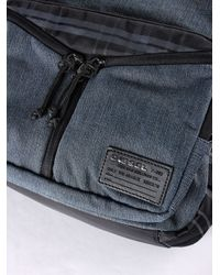 DIESEL - Black Distressed Shoulder Bag for Men - Lyst