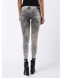 DIESEL Gray Skinzee Low-c 0679s