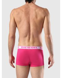 DIESEL - Green 3 Pack Trunks In Bright Colors for Men - Lyst