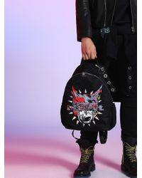 DIESEL - Black Lu-backpack - Lyst