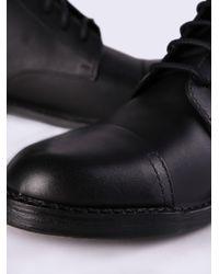 DIESEL - Black D-pit Boot for Men - Lyst