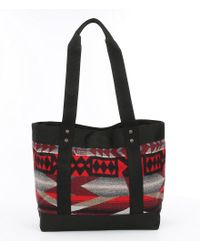 Pendleton - Red Small Snap Tote - Lyst