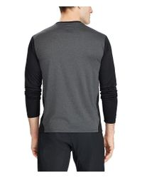 Polo Ralph Lauren - Multicolor Active-fit Performance Long-sleeve Tee for Men - Lyst