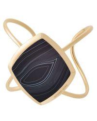 Michael Kors - Blue Cool & Classic Agate Cuff Bracelet - Lyst