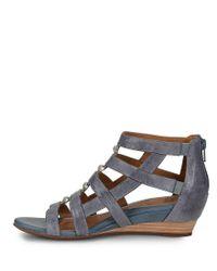 Söfft - Black Rio Gladiator Sandal - Lyst