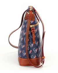 Dooney & Bourke | Black Nfl Collection Houston Texans Cross-body Bag | Lyst
