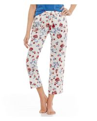 Lucky Brand | Multicolor Floral-print Lawn Sleep Pants | Lyst