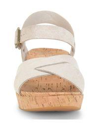 Kork-Ease - Blue Myrna 2.0 Suede Sandals - Lyst