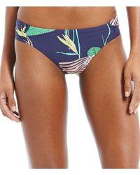 Trina Turk - Multicolor Midnight Paradise Shirred Side Hipster Bottom - Lyst