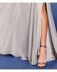 Pelle Moda - Brown Kacey Ankle-strap Rhinestone Dress Sandals - Lyst