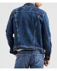 Levi's - Blue Big & Tall Denim Trucker Jacket for Men - Lyst