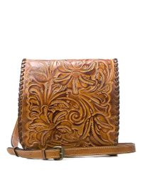 Patricia Nash | Metallic Burnished Tooled Collection Granada Cross-body Bag | Lyst