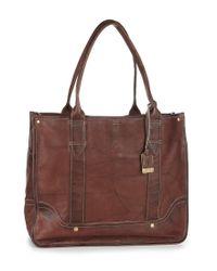 Frye   Brown Campus Shopper Tote Bag   Lyst