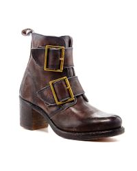 Frye | Brown Sabrina Double Buckle Boots | Lyst