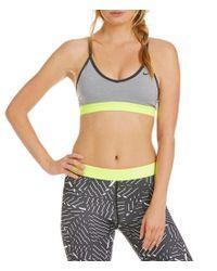 Nike   Gray Pro Dri-fit Indy Sports Bra   Lyst