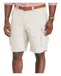 Polo Ralph Lauren   Natural Big & Tall Relaxed-fit Classic Cargo Shorts for Men   Lyst