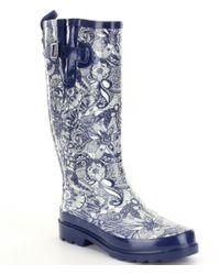 The Sak | Blue Rhythm Rain Boots | Lyst