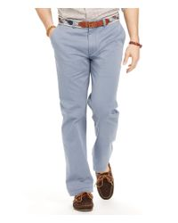 Polo Ralph Lauren | Blue Classic-fit Essential Chino for Men | Lyst