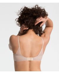 Spanx - Natural Pillow Cup Signature Unlined Full Coverage - Lyst