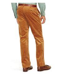 Polo Ralph Lauren   Brown Classic Stretch Corduroy Pant   Lyst