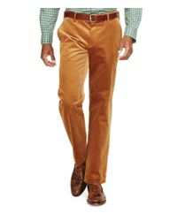 Polo Ralph Lauren | Brown Classic Stretch Corduroy Pant | Lyst