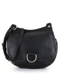Frye   Black Amy Saddle Bag   Lyst
