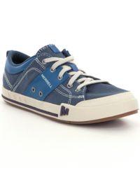 Merrell - Blue Rant Sneakers for Men - Lyst