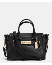 COACH   Multicolor Swagger 27 In Pebble Leather   Lyst