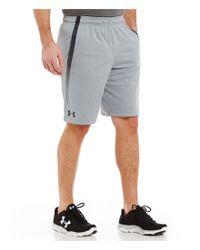 Under Armour   Gray Tech Mesh Shorts for Men   Lyst