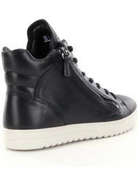 Ecco - Black Fara Sneakers - Lyst