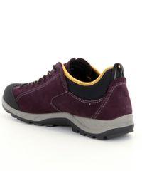 Ecco - Purple Yura Low Hiking Shoes for Men - Lyst