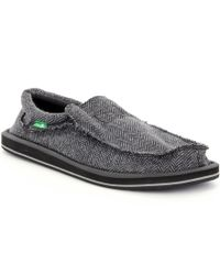 Sanuk | Black Chiba Tx Shoes for Men | Lyst