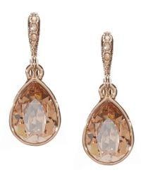 Givenchy | Metallic Golden Shadow Drop Earrings | Lyst