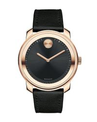 Movado Bold | Black Analog Watch for Men | Lyst
