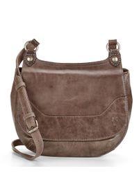 Frye | Brown Melissa Saddle Cross-body Bag | Lyst