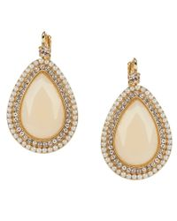 kate spade new york | Metallic At First Blush Mother-of-pearl Drop Earrings | Lyst
