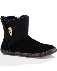 UGG | Black Ugg 'garnet' Toggle Boot | Lyst
