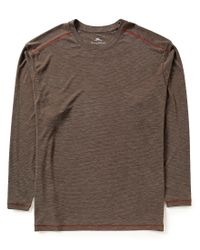 Tommy Bahama   Brown Big & Tall Long-sleeve Paradise Around Tee for Men   Lyst