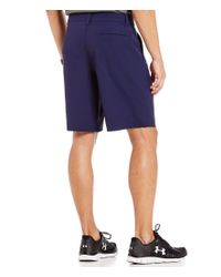 Under Armour - Blue Fish Hunter Flat-front Shorts for Men - Lyst