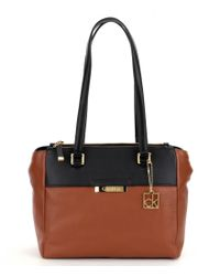 Calvin Klein Multicolor Color Block Pebbled Tote