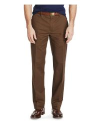 Polo Ralph Lauren | Brown Stretch Classic Fit Chino Pants for Men | Lyst