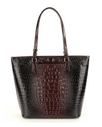 Brahmin - Brown Melbourne Collection Asher Tote - Lyst