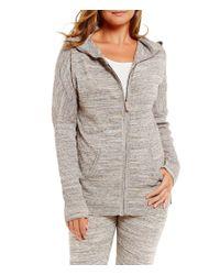 UGG | Gray ® Willa Sweater-knit Lounge Hoodie | Lyst