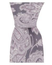 Original Penguin | Black Audrey Paisley Skinny Tie for Men | Lyst