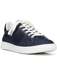Sam Edelman | Blue Marquette Sneaker | Lyst