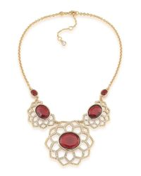 Carolee | Metallic The Big Apple Statement Frontal Necklace | Lyst