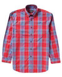 Pendleton | Red Surf Plaid Button-down Collar Shirt for Men | Lyst