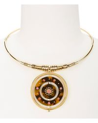 kate spade new york - Metallic Out Of Her Shell Statement Collar Necklace - Lyst