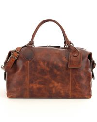 Frye | Brown Logan Overnight Bag | Lyst