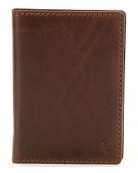 Frye | Brown Logan Passport Wallet for Men | Lyst